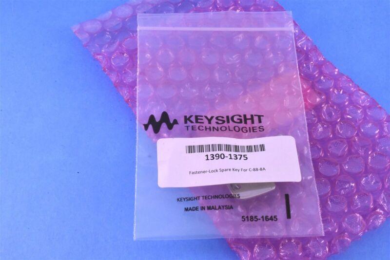 2 (Two) Keysight Technologies 1390-1375 Fastener Lock Spare Key for C-88-8A