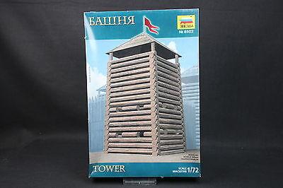 XV018 ZVEZDA 1/72 maquette 8502 Tower tour construction defense moyen age