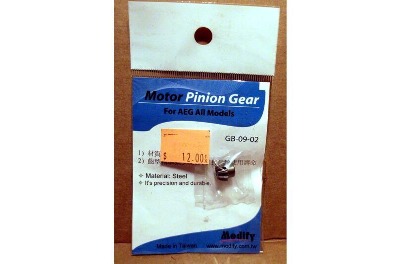 NIP Modify Motor Pinion Gear For AEG All Models/Airsoft Electric Gun Accessories
