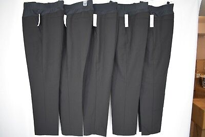 New Large 7/8 Length DUO Black Stretch Maternity Pants Under the Belly, Reg $36 Duo Maternity Pants