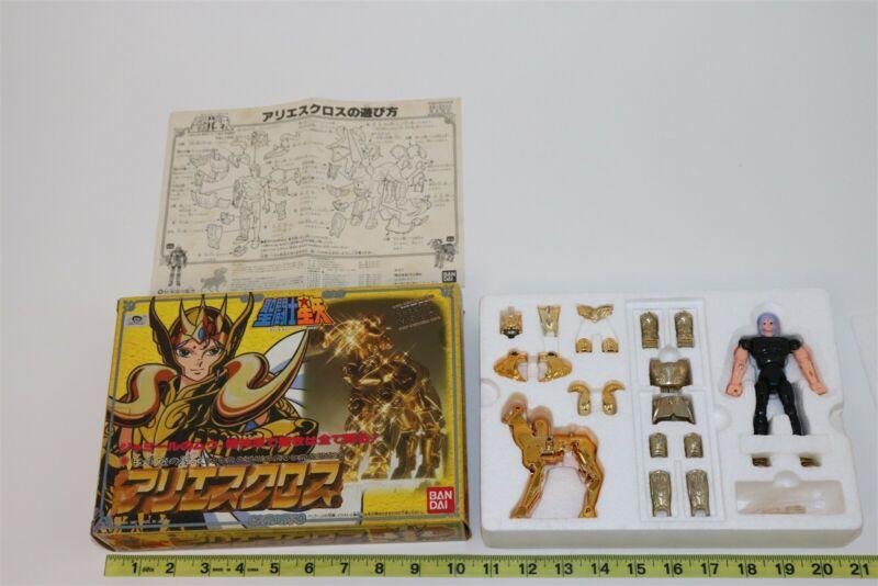 Knights of the Zodiac Saint Seiya Gold Cloth Aries Vintage 1988 BANDAI
