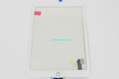 Vitre tactile iPad Air 2 Blanc
