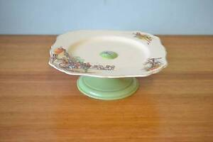 Vintage Cake stand J & G Meakin Sunshine Reg 561073 fine china Mordialloc Kingston Area Preview
