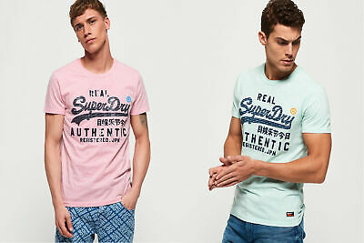 Superdry Mens Vintage Authentic Pastel Lite T-Shirt