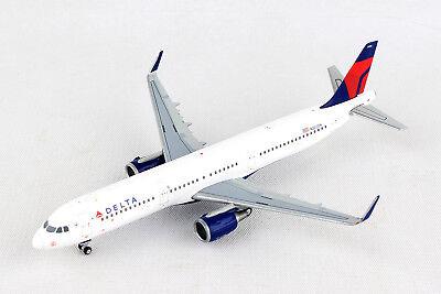 Gemini Jets Delta Air Lines Airbus A321-200 GJDAL1723 1/400 REG# N302DN. New