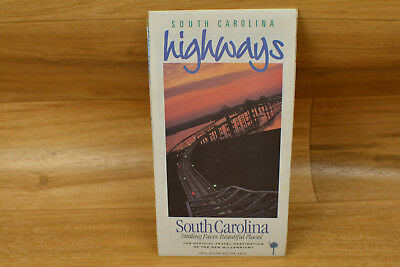 South Carolina Highways Road Map 2001 Paper