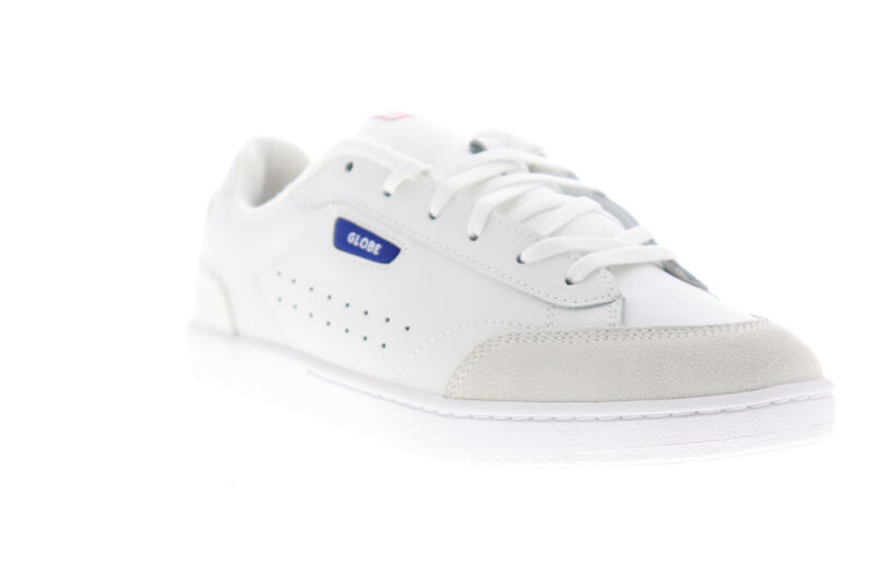Globe Sygma GBSYGMA Mens White Low Top Lace Up Skate Sneakers Shoes