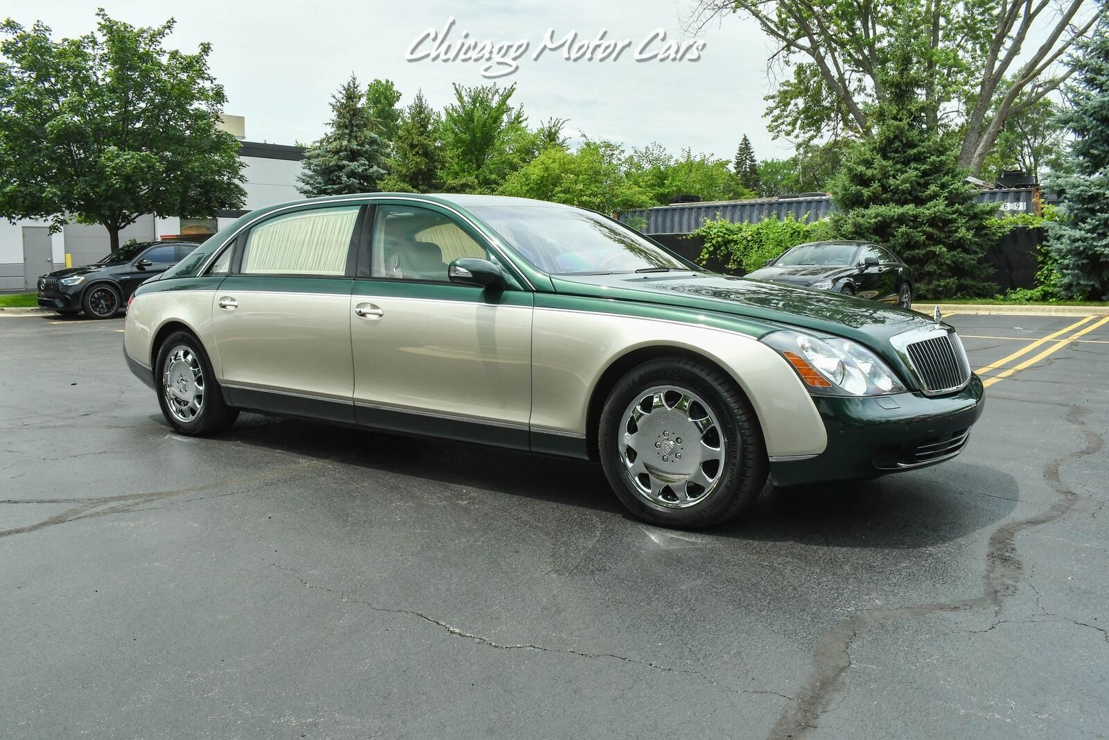 2004 Maybach 62 PANO ROOF! DUO-TONE! REAR WINDOW CURTAINS! LOW MIL 5L TT V12 sin