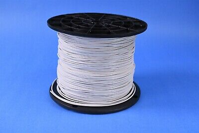 1000 Mil-spec Wire 16 Awg 19 Strands 600v Silver Plated Copper Tfe M16878-bje-9