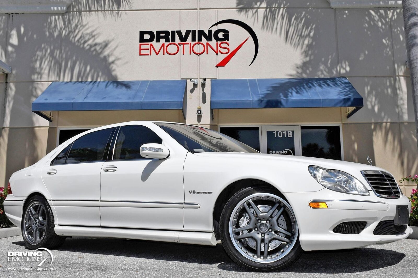 2006 Mercedes-Benz S55 AMG S 55 AMG Upgraded S65 Wheels!! 65589 Miles Alabaster