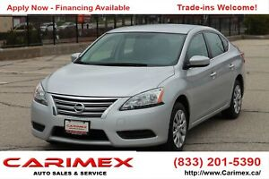 2015 Nissan Sentra 1.8 S ONLY 65K | CERTIFIED