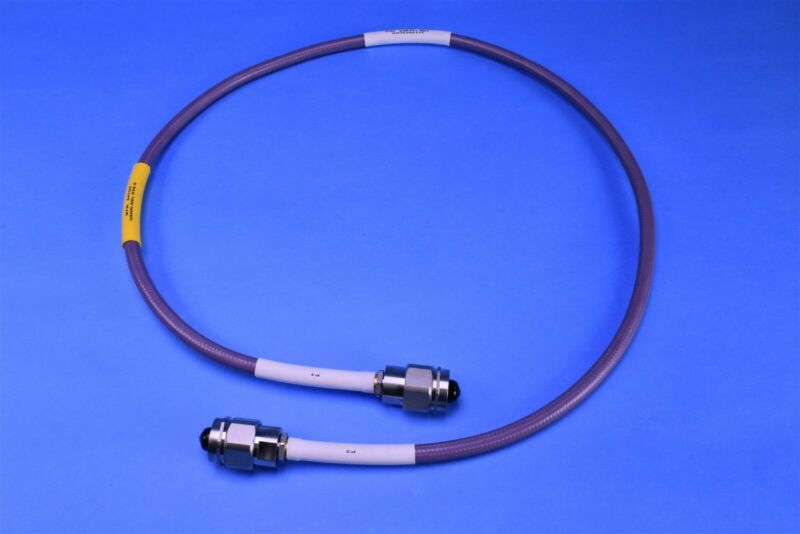 "Gore & Associates 34.5"" Microwave Cable Assy G6 Series N-Type N-Type 50Ohm 18GHz"