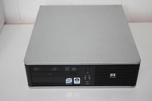 HP DC7800 SFF Version Desktop PC 160GB, 4GB, Core2 Duo E6550 2.33GHz, DVDRW