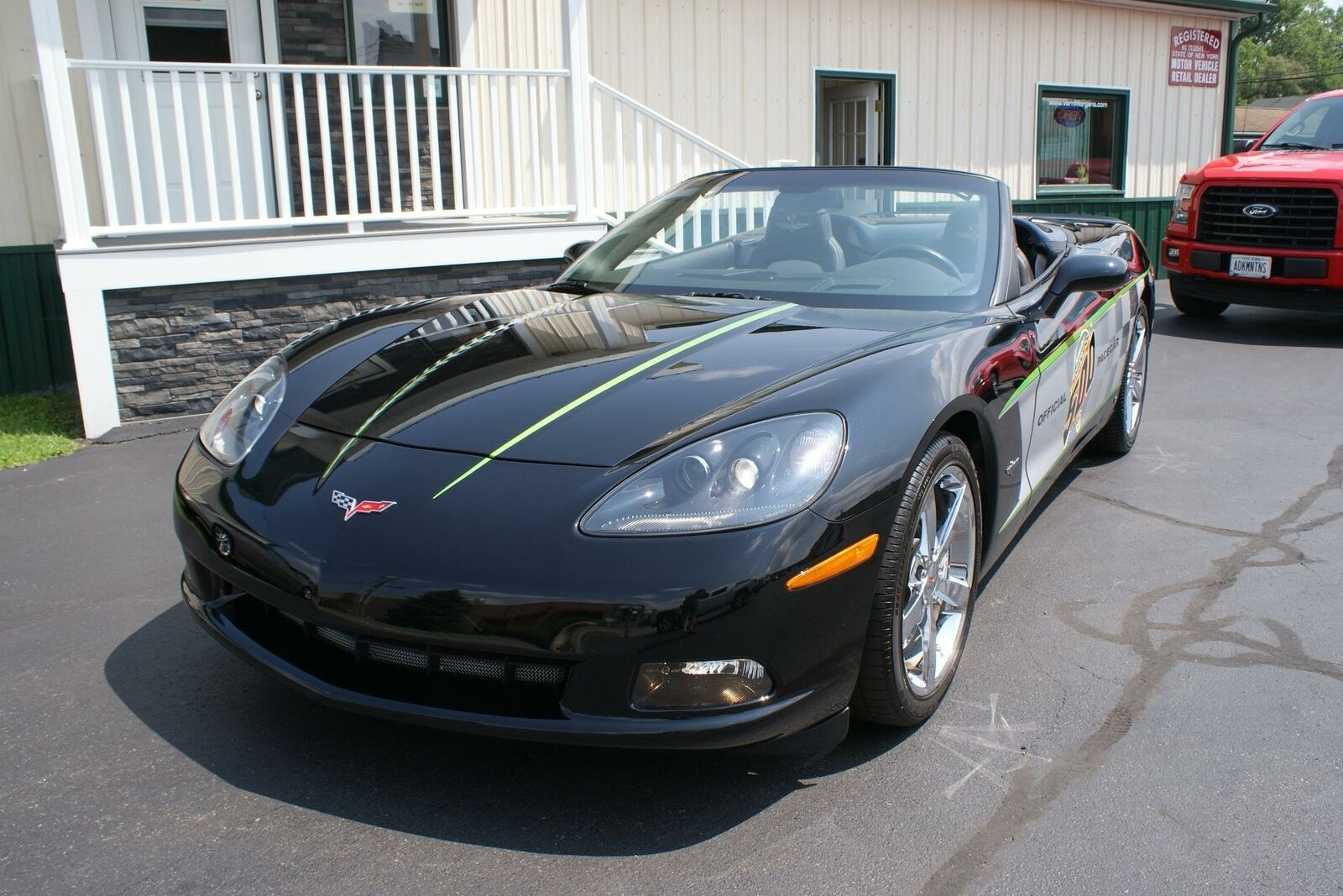 2008 Black Chevrolet Corvette   | C6 Corvette Photo 3