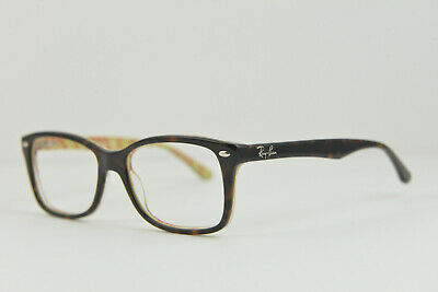 1c772e9b00 Ray-Ban RB 5228 5057 55-17 140 eyeglasses glasses frame Tortoise Brown NO  LENS