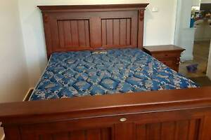 Queen size bed set with 2 side tables & tallboy Werrington Penrith Area Preview