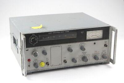 Marconi Instruments Am Fm Modulation Meter Analyzer Tf2300b