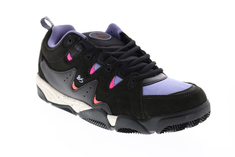 ES Symbol 5101000169010 Mens Black Suede Skate Sneakers Shoes 9.5