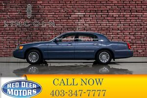 1999 Lincoln Town Car Signature Leather Heated Seats