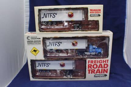 1-64 Highway Replicas Mack NTFS Freight Road Train+ extra trailer