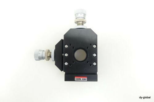 SIGMA KOKI Two-axis mount for precision pinholes Used 65x50x20 STA-I-259=5F41