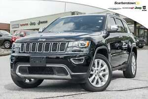 2017 Jeep Grand Cherokee Limited+NAV+ROOF+B-CAM+MORE
