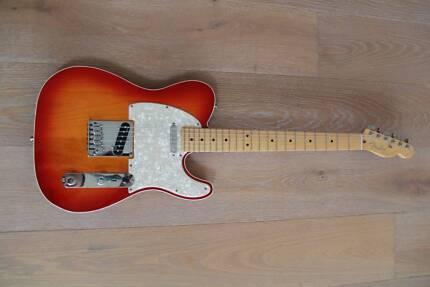 Fender American Deluxe Telecaster Aged Cherry Burst