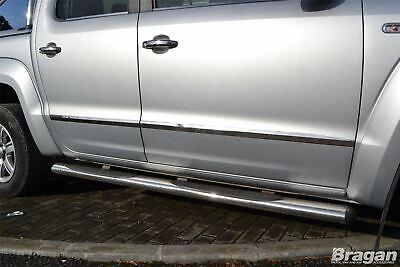 Lateral Puertas Cromo Recortar Accesorio Para VW Volkswagen 2010-2016 Inoxidable