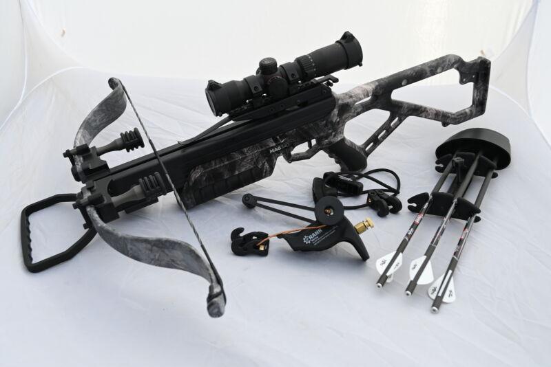 Excalibur Crossbows Micro MAG 340 Mossy Oak Overwatch Camo C2 Crank Package