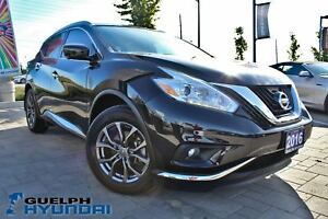 2016 Nissan Murano ONE OWNER! LOW KMS! CLEAN CARPROOF!