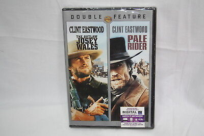 Clint Eastwood Sealed Dvd Double Feature Pale Rider Outlaw Josey Wales