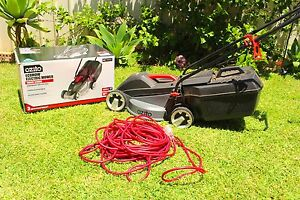 ozito electric mower how to start