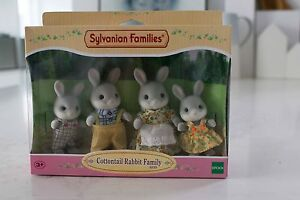 Sylvanian Families Cottontail Rabbit Family - unopened Woollahra Eastern Suburbs Preview