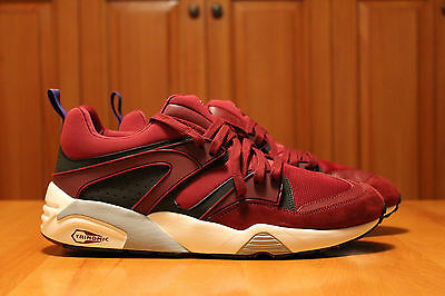 Puma Blaze of Glory Mens Shoes Cordovan White Size 11 New Running