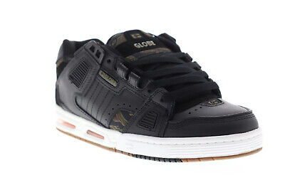 Globe Sabre Mens Black Synthetic Athletic Lace Up Skate Shoe