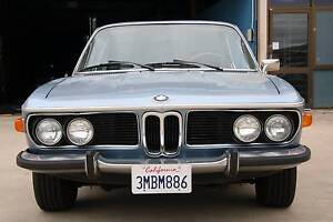1971 BMW 3.0cs Coupe Fyshwick South Canberra Preview