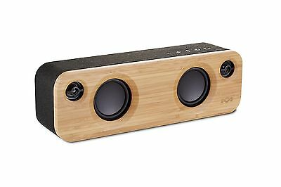 House of Marley Get Together Mini Bluetooth Wireless Portable Speaker - Black