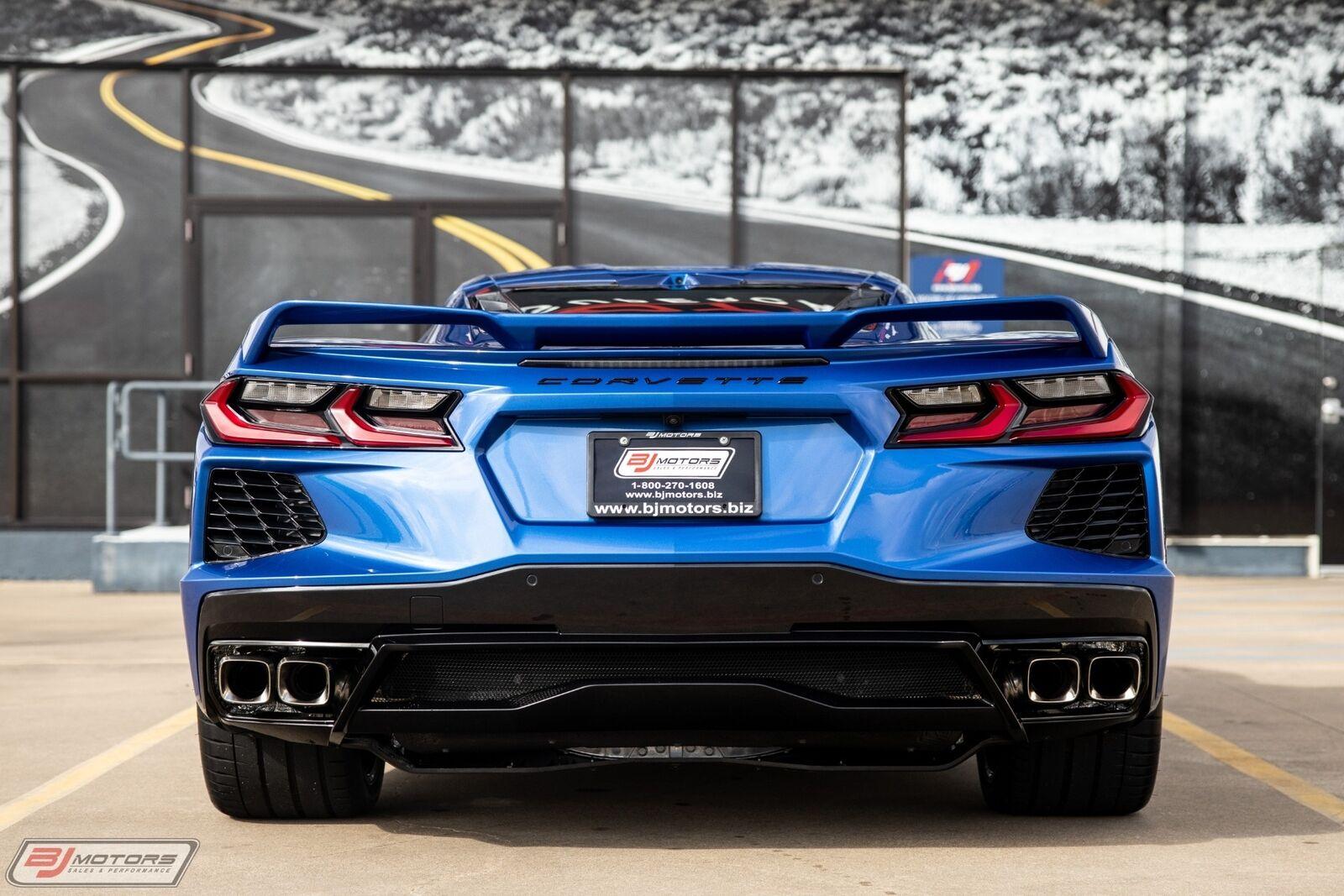 2020 Blue Chevrolet Corvette  2LT | C7 Corvette Photo 4