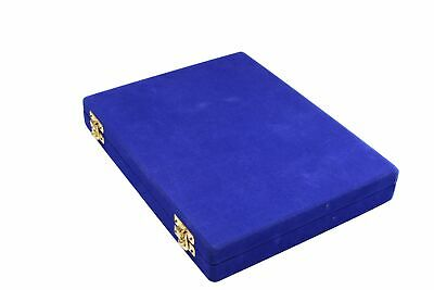 Buy Best 1.75 inch King, Black and White Hand Made Marble Chess Pieces in a Velvet Blue Case.