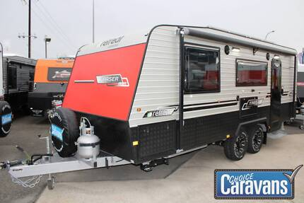 Retreat Fraser Caravan Off Road Melrose Park Mitcham Area Preview
