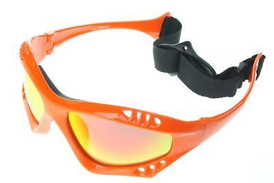Polarized Water Sport Sunglasses Surf Kitesurfing Glasses Orange Gold 603