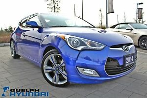2014 Hyundai Veloster ONE ONWER! CLEAN CARPROOF