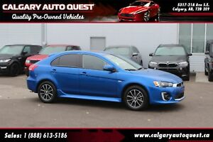 2016 Mitsubishi LANCER SPORTBACK GT BACK UP CAMERA/LEATHER/SUNRO
