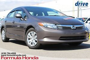 2012 Honda Civic LX MINT CONDITION   ALL MAINTENANCE COMPLETED!