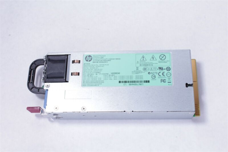 HP 1200W Platinum Plus 656364-B21 660185-001 643933-001 643956-101 Power Supply
