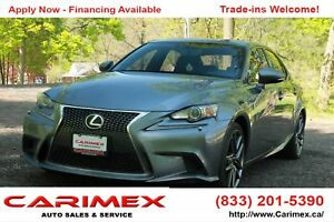 2014 Lexus IS 350 F-Sport | AWD | CERTIFIED