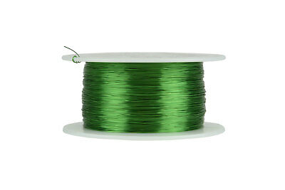 Temco Magnet Wire 30 Awg Gauge Enameled Copper 155c 8oz 1566ft Coil Green
