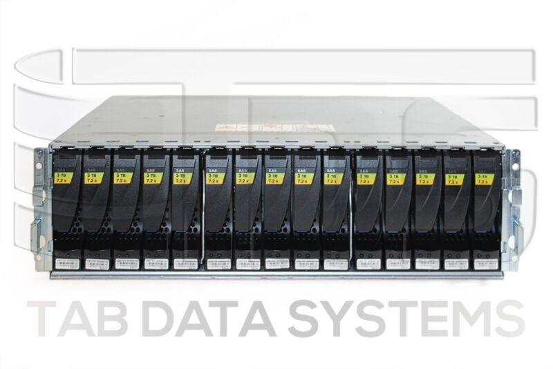 EMC VNX6GDAE15 V31-DAE-N-15 w/ 15x V3-VS07-030 3TB 7.2K SAS Hard Drive