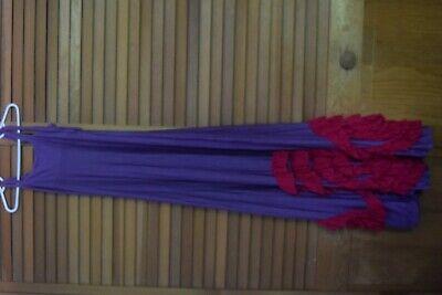 EUC Pixie Girl by Vicki Sigg Purple pink  Twirl dress Size 12  - Pixie Girl Dresses