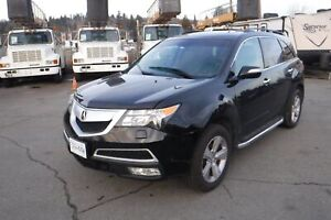 2012 Acura MDX 6-Spd AT Tech Package 3rd Row Seating